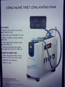 May triet long diode Laser