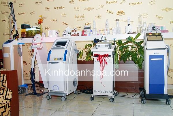 Kinhdoanhspa.com trở thành đối tác chuyên cung cấp thiết bị cho spa tại tphcm