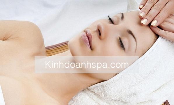 Một số người đã đi spa chăm sóc da mặt để đạt hiệu quả cao nhất