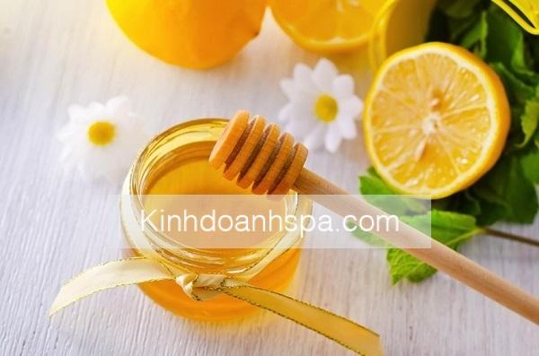 Triệt lông chân bằng chanh tươi và mật ong