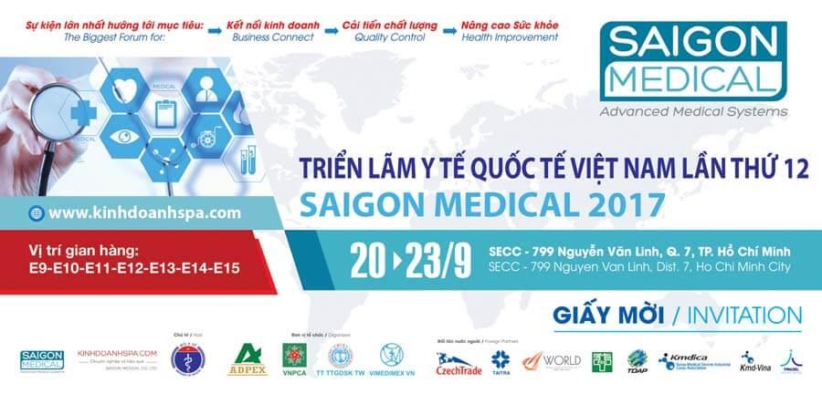 Triễn lãm thiết bị y tế lần thứ 12 ngày 20-23 T9 2017 TPHCM